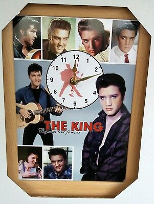 Elvis The King Presley Wall clock