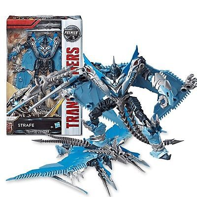 NEW Transformers: The Last Knight Premier Edition Deluxe Strafe Action Figure