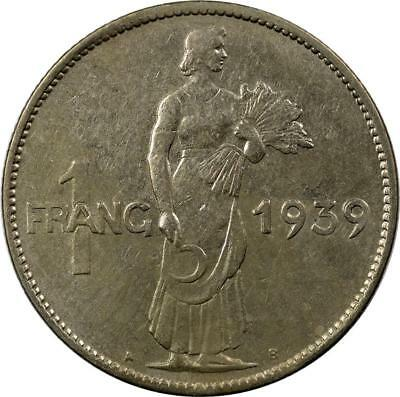 Luxembourg - Franc - 1939