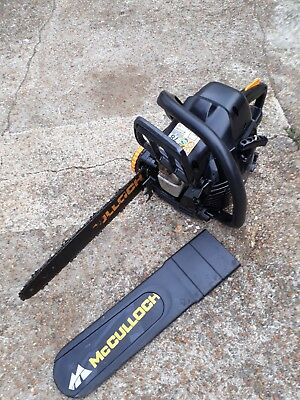 McCULLOCH   PETROL CHAIN SAW PART OF THE HUSQVARNA GROUP + STIHL OIL