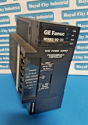 Ge Fanuc Ic693Pwr322E Series 90-30 Power Supply