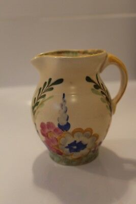Hancocks Arts and Crafts Vase / Jug Ivory Ware - Hand-painted; lovely condition