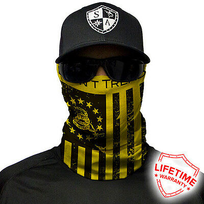 SA Face shield DON'T TREAD ON FREEDOM ! 20 DIFFERENT STYLES!