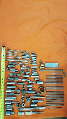Machinists Steel Round Flat Material Milling Stock Lot