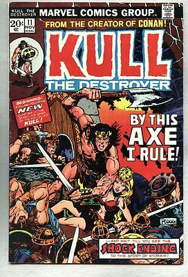 Kull The Conquerer #11-1973 fn- The Destroyer / Mike Ploog
