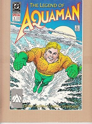 AQUAMAN  #1 SPECIAL 1989  52p  DC -THE LEGEND- GIFFEN/ SWAN...VF