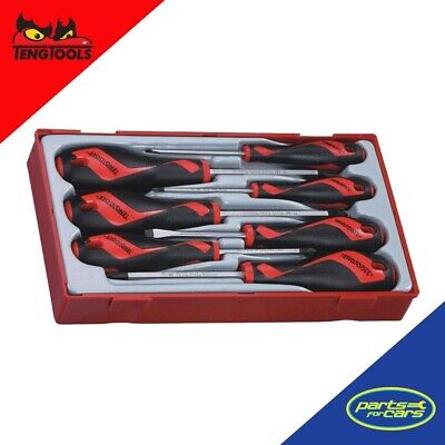 Tt917N -  Teng Tools 7 Piece Screwdriver Set With Lockable Case