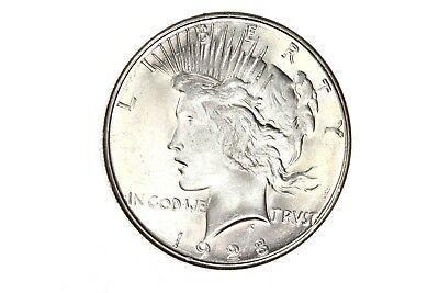1928-S Peace Dollar $1 BU Silver Coin KEY DATE! RARE in Unc! #291