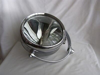 Vintage - Chrome One Mile Ray 500 Marine 10 Inch Spot Search Light Boat Original