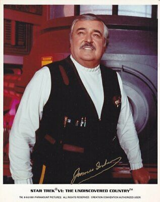STAR TREK SCOTTY JAMES DOOHAN # 3 final hand signing