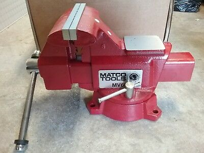 """NEW Matco Bench Vise.  6"""" Jaws"""
