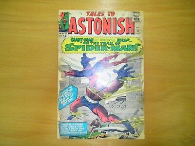 Tales to Astonish (1st Series) #57 Giant-Man & Wasp; Spiderman