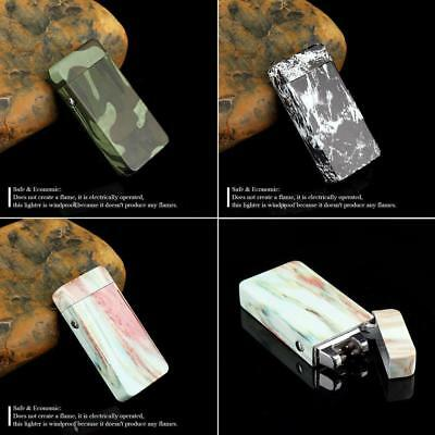 Electric USB Lighter Dual Arc Cigarette Plasma Rechargeable Windproof Flameless