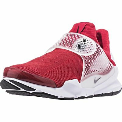 06d8698e1d3f83 MSRP 130.00 NEW Nike Sock Dart Gym Red Black White Mens Shoes Size 12