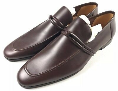 c2f54bab6b7  550 Gucci Men s Designer Brown Leather Loafers - 121471 (GGM1538) 14.5  15.5 US