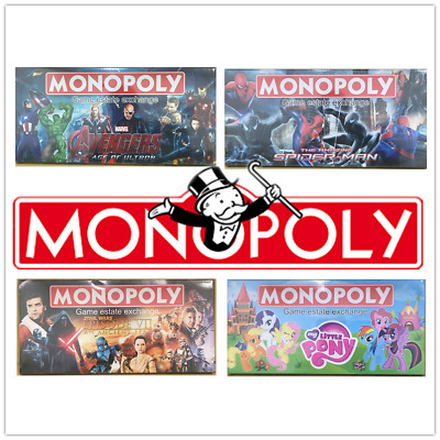 MONOPOLY CLASSIC Educational Board Game Gift Toy Kids Children Family Plus More!