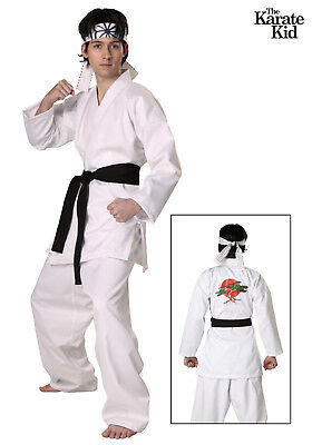 Karate Kid Fancy Dress Gi White Martial Arts Karate Uniform All Sizes Daniel San