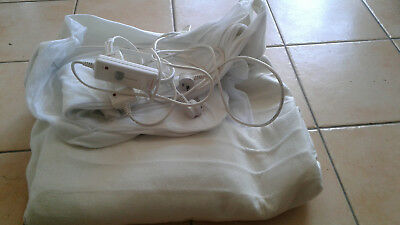Kambrook Bedding Heated Electric Blanket Fully Fitted Polyester King Size