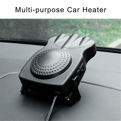 12V 150W Portable Car Heating Cooling Fan Heater Window Demister Defroster