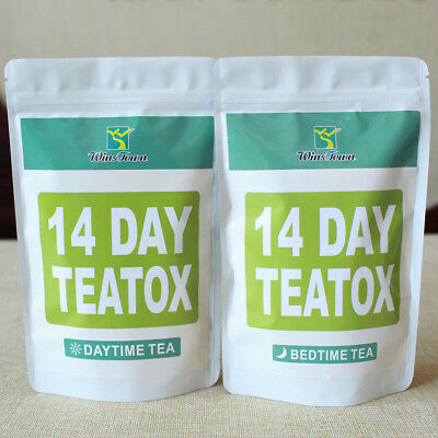 Appetite Suppressant Thin Belly 14 Days Detox Slimming Weight Loss Tea Healthy
