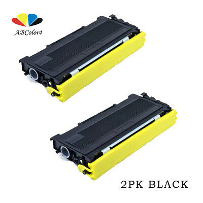2PK TN350 Black Toner Cartridge For Brother DCP-7020 HL-2040 MFC-7420/7225N NEW!