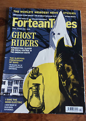 FORTEAN TIMES - JANUARY 2015 Issue # 323 - Ghost Riders