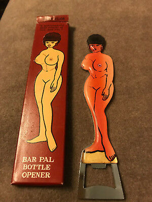 Vintage Risque Bar Pal Bottle Opener 'a Bartenders Friend' Circa 1950's