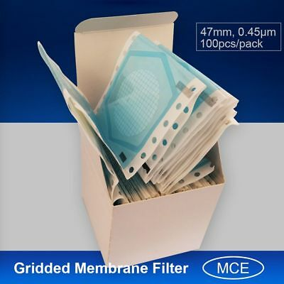 Membrane filter OD=47,0.45micron,made with MCE/Mixed Cellulose Ester,100pcs/pack