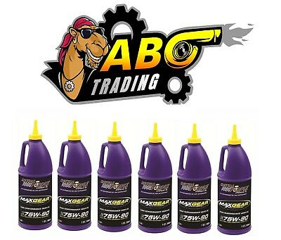 Royal Purple Gear Oil Max-Gear Synthetic 75W90 6-Quarts 01300