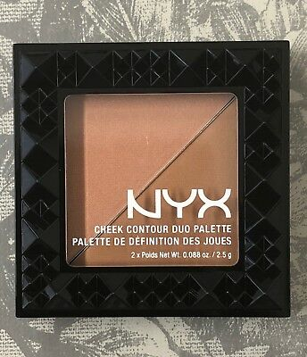 NYX Cheek Contour Duo Palette. CHCD05 TWO TO TANGO. Brand New & Sealed X