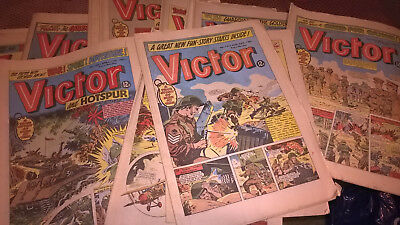 VICTOR boys COMICS from 1981 - Any FIVE for 99 pence! *RETRO GIFT IDEA*