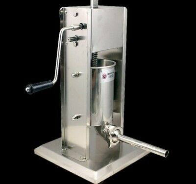 Professional Commercial 3L Stainless Steel Sausage Filler 4 Stuffing Tubes