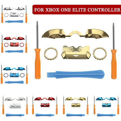 9Types LB RB Bumper Button Front Damper Replace for Xbox One Elite Controller