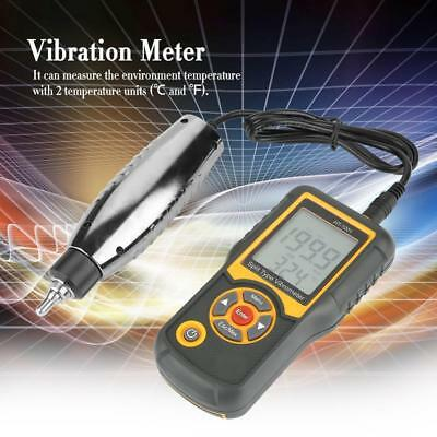 Digital Split Type Vibration Meter Tester Vibrometer Sensor Gauge New