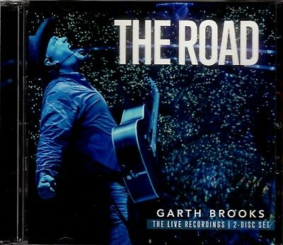 GARTH BROOKS THE ROAD NEW 2 x CD SET LIVE RECORDINGS COUNTRY SINGER