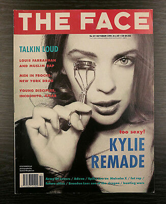 The Face Magazine feat Kylie Minogue, October 1991