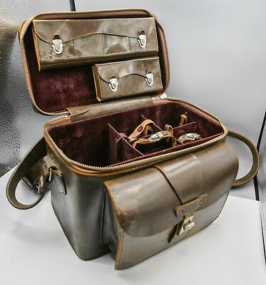 Rare - Nikon M S S2 S3 SP Rangefinder Film Camera Fitted System Accessory Case
