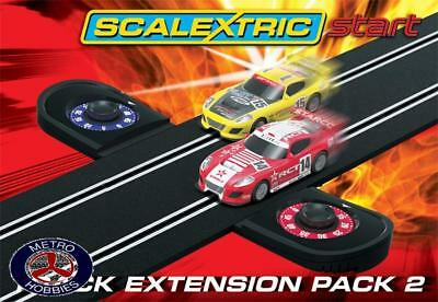Scalextric Start Track Pack + Lap Counter C8528 Brand New
