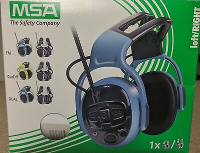 MSA left/RIGHT Ear Defenders with FM Radio
