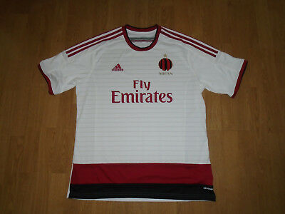 UNWORN AC Milan away shirt size extra large, 2014-15, adidas, UK FREEPOST!