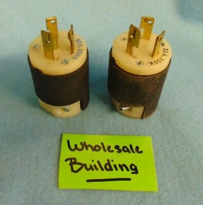 Hubbell, Twist-Lock Receptacles, 231A, 30 Amp, 250 Volts, Lot Of 2