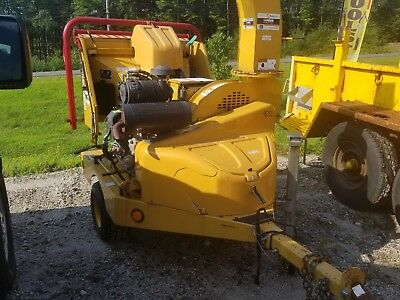 2012 Vermeer BC600XL towable chipper, AutoFeed II system, Kohler gas,