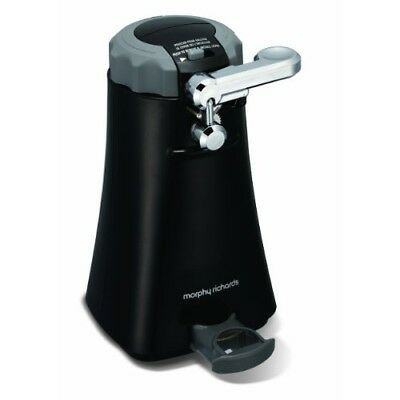 Morphy Richards Multifunction Can Opener 46718 Black Tin Opener