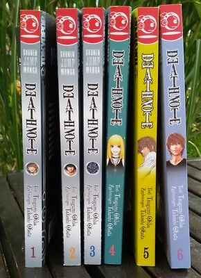 Death Note Band 1-6