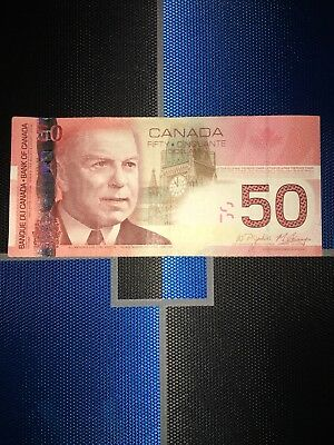 Canada $50 Dollars Bill Note Unc 2004