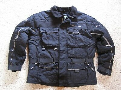Vtg Men's ARCTIC CAT Black ARCTIC WEAR Snowmobile PREMIUM TOURING Jacket XLarge