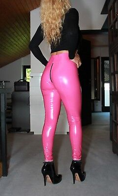 PUSSYRIOT 3-Wege-Ouvert-Zip BOOTY Leggings HL5A_ZV6 CrystalLac Z360 - PINK - M
