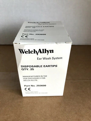Welch Allyn 293600 Eartips  Disposable Ear Tips  25/bx