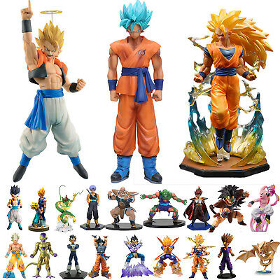 Dragon Ball Z Super Saiyan Son Goku Vegeta PVC Figure Anime DBZ Figurine Toys UK