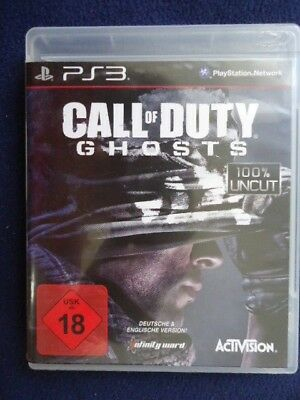 Ps3 Spiel Call Of Duty Ghosts